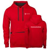Contemporary Sofspun Red Hoodie-Comms