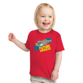 Toddler Red T Shirt-Future Shipbuilder Carrier Ship