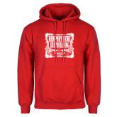 Red Fleece Hoodie-NNS Vintage