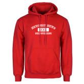 Red Fleece Hoodie-NNS College Design