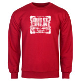 Red Fleece Crew-NNS Vintage