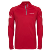 Under Armour Red Tech 1/4 Zip Performance Shirt-IPPC