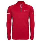 Under Armour Red Tech 1/4 Zip Performance Shirt-Trades