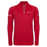 Under Armour Red Tech 1/4 Zip Performance Shirt-Manufacturing and Material Distribution