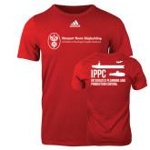 Adidas Red Logo T Shirt-IPPC