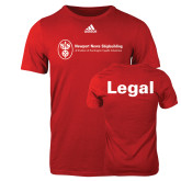 Adidas Red Logo T Shirt-Legal