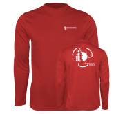 Performance Red Longsleeve Shirt-NNS IT