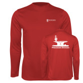 Performance Red Longsleeve Shirt-Programs Division