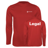 Performance Red Longsleeve Shirt-Legal