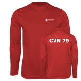 Performance Red Longsleeve Shirt-CVN 79