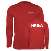 Performance Red Longsleeve Shirt-HR and A