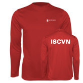 Performance Red Longsleeve Shirt-ISCVN