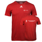 Adidas Climalite Red Ultimate Performance Tee-Business Management