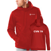 Under Armour Red Armour Fleece Hoodie-CVN 79