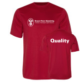 Performance Red Tee-Quality