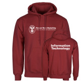 Cardinal Fleece Hoodie-Information Technology