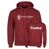 Cardinal Fleece Hoodie-Trades