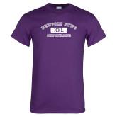 Purple T Shirt-NNS College Design