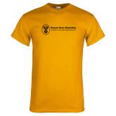 Gold T Shirt-Newport News Shipbuilding