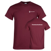 Maroon T Shirt-Comms