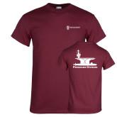 Maroon T Shirt-Programs Division