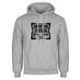 Grey Fleece Hoodie-NNS Vintage
