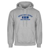 Grey Fleece Hoodie-NNS College Design