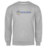 Grey Fleece Crew-Newport News Shipbuilding