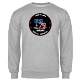 Grey Fleece Crew-CVN 79