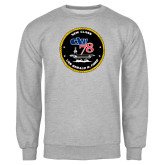 Grey Fleece Crew-CVN 78