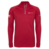 Under Armour Cardinal Tech 1/4 Zip Performance Shirt-NNS IT