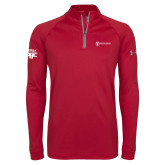 Under Armour Cardinal Tech 1/4 Zip Performance Shirt-HR and A