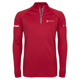 Under Armour Cardinal Tech 1/4 Zip Performance Shirt-Legal