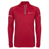 Under Armour Cardinal Tech 1/4 Zip Performance Shirt-CVN 79