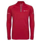 Under Armour Cardinal Tech 1/4 Zip Performance Shirt-Navy Programs