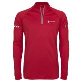 Under Armour Cardinal Tech 1/4 Zip Performance Shirt-ISCVN