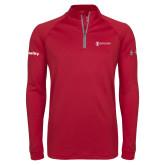 Under Armour Cardinal Tech 1/4 Zip Performance Shirt-Quality