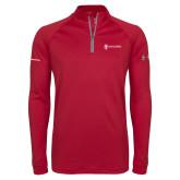 Under Armour Cardinal Tech 1/4 Zip Performance Shirt-Comms