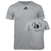 Adidas Sport Grey Logo T Shirt-NNS IT