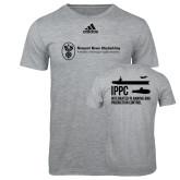 Adidas Sport Grey Logo T Shirt-IPPC