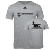 Adidas Sport Grey Logo T Shirt-Programs Division