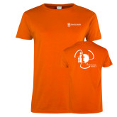 Ladies Orange T Shirt-NNS IT
