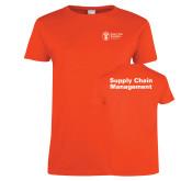 Ladies Orange T Shirt-Strategic Sourcing