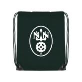 Dark Green Drawstring Backpack-Icon