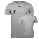 Adidas Climalite Sport Grey Ultimate Performance Tee-Business Management