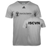 Adidas Climalite Sport Grey Ultimate Performance Tee-ISCVN