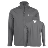 Charcoal Softshell Jacket-HR and A