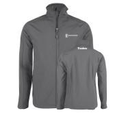 Charcoal Softshell Jacket-Trades