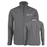 Charcoal Softshell Jacket-Quality