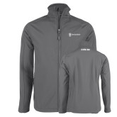 Charcoal Softshell Jacket-CVN 80 and 81